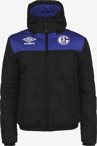Veste de sport 'FC Schalke 04' UMBRO en noir