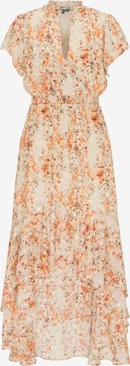 DreiMaster Vintage Kleid in hellbeige / orange, Produktansicht