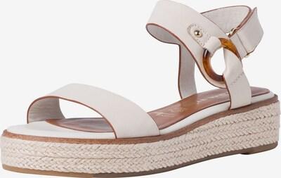 TAMARIS Sandale in beige, Produktansicht