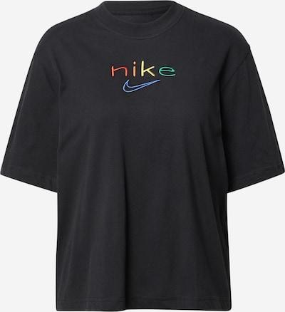 Tricou funcțional NIKE pe albastru / galben / verde / roșu / negru, Vizualizare produs