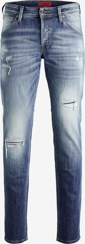 JACK & JONES Jeans 'Glenn' i blå