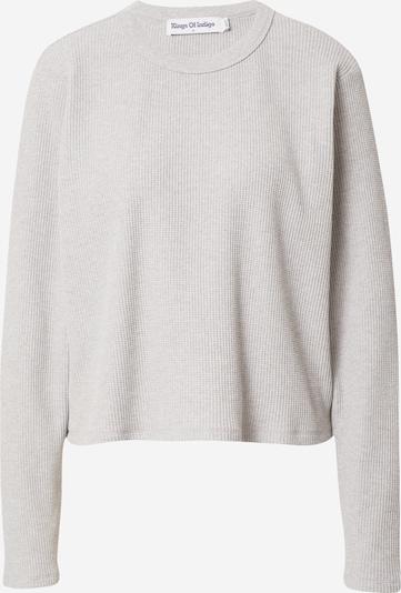 Kings Of Indigo T-shirt 'JESSAMINE' i ljusgrå, Produktvy