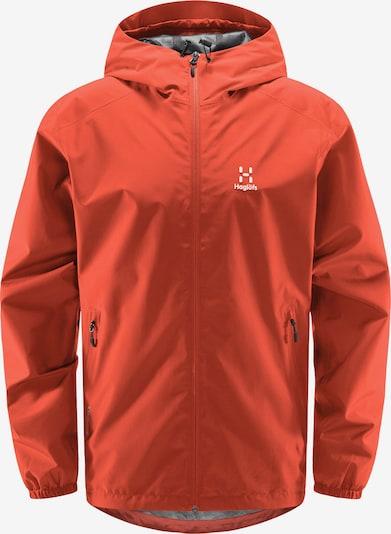 Haglöfs Outdoorjacke 'Betula GTX' in orange / weiß, Produktansicht