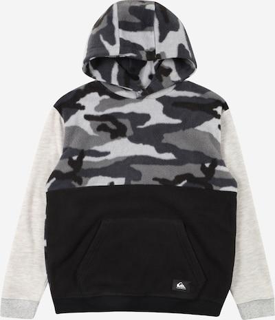 QUIKSILVER Sportsweatshirt in hellgrau / dunkelgrau / schwarz, Produktansicht
