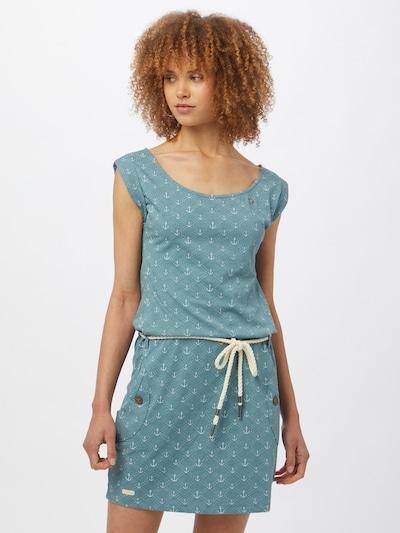 Ragwear Jurk 'Tag' in de kleur Pastelblauw / Wit, Modelweergave