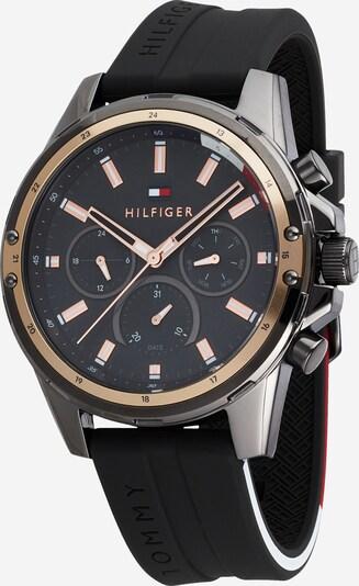 TOMMY HILFIGER Analoginen kello 'MASON' värissä roseekulta / tummanharmaa, Tuotenäkymä