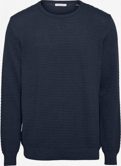 KnowledgeCotton Apparel Pullover ' FIELD o-neck sailor knit ' in nachtblau, Produktansicht