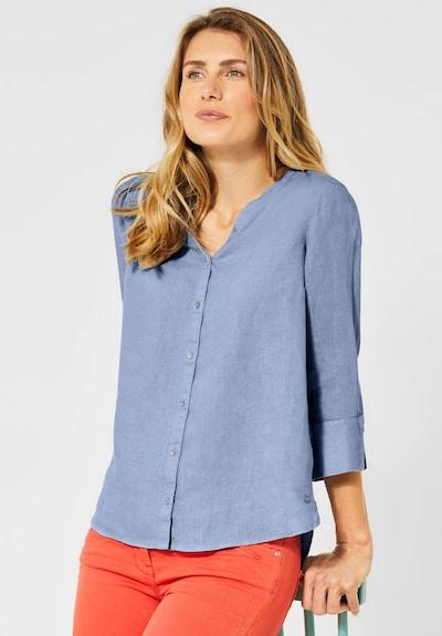 CECIL Leinen-Bluse in blau, Modelansicht