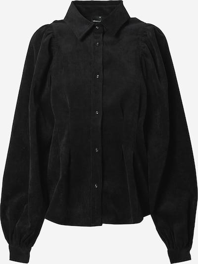 Gina Tricot Блуза 'Ariella' в черен меланж, Преглед на продукта