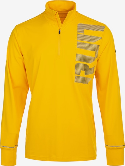 ENDURANCE Funktionsshirt 'CRONT M Midlayer' in gelb, Produktansicht