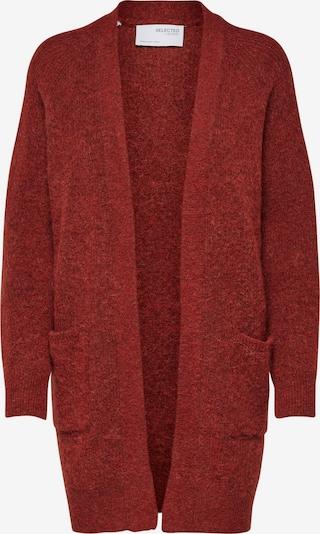 SELECTED FEMME Strickjacke 'LULU' in rot, Produktansicht