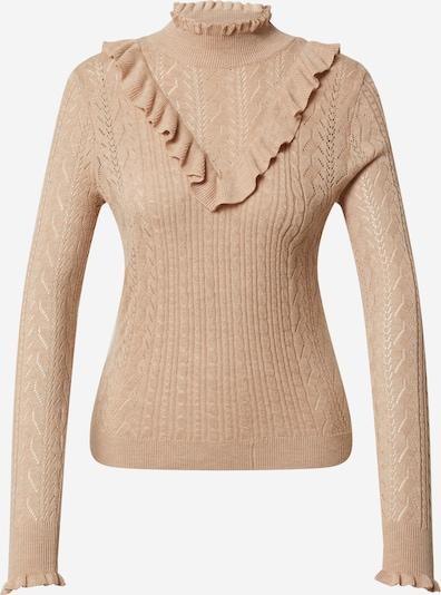 EDITED Pullover 'Elka' in beigemeliert, Produktansicht