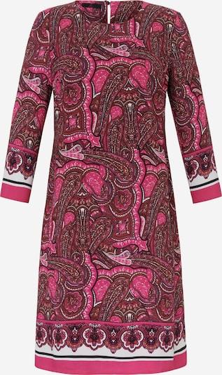 Emilia Lay Abendkleid mit 3/4-Arm in pink, Produktansicht