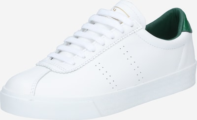 SUPERGA Zemie brīvā laika apavi '2869 Club' Zelts / zaļš / balts, Preces skats
