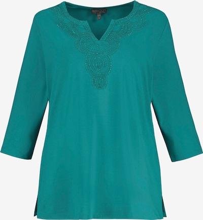 Ulla Popken Shirt in jade: Frontalansicht