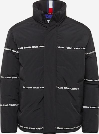 Tommy Jeans Prechodná bunda - čierna / biela, Produkt