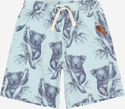 Walkiddy Trousers in navy / light blue, Item view