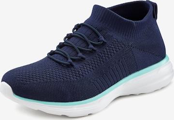 Sneaker low de la LASCANA pe albastru