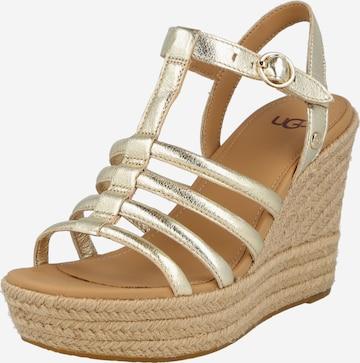 Sandale 'CRESSIDA' de la UGG pe auriu