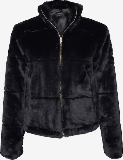 Vestino Kunstfelljacke in schwarz, Produktansicht