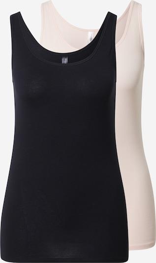 SCHIESSER Onderhemd in de kleur Lichtroze / Zwart, Productweergave