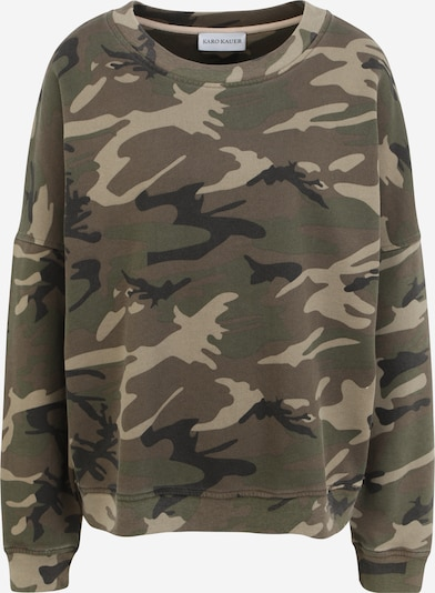 Karo Kauer Sweater majica 'Nora' u bež / zelena / kaki / crna, Pregled proizvoda