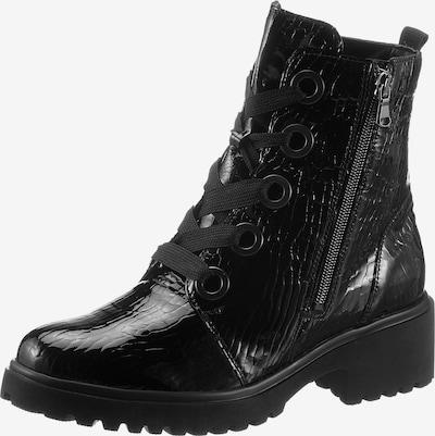 WALDLÄUFER Schnürstiefelette in schwarz, Produktansicht