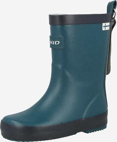 FINKID Gummistövel 'KUMI' i marinblå / svart, Produktvy