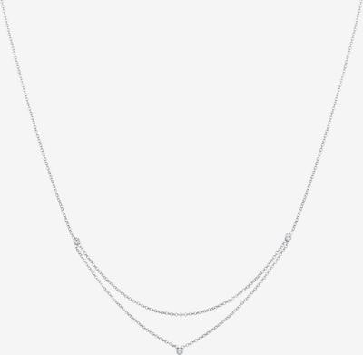 ELLI Halskette Kristall Kette, Layer in silber, Produktansicht