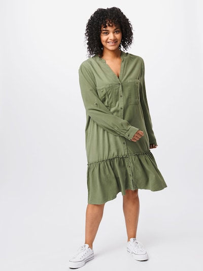 Z-One Kleid 'Paula' in khaki, Modelansicht