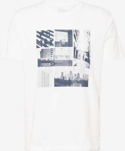 Tricou EDC BY ESPRIT pe gri metalic / gri deschis / alb murdar, Vizualizare produs