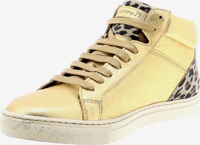 Camino71 Sneaker in beige / braun / gold / schwarz, Produktansicht