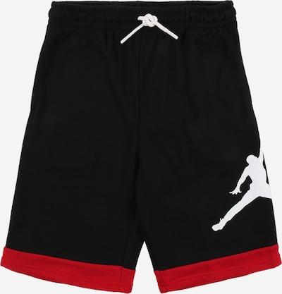 Jordan Shorts in rot / schwarz / weiß, Produktansicht