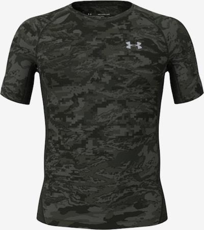 UNDER ARMOUR Funktionsshirt in khaki / dunkelgrün / schwarz, Produktansicht