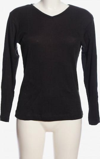 Avitano Longshirt in S in schwarz, Produktansicht