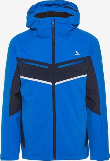 Schöffel Outdoorjacke 'Goldegg' in blau / dunkelblau, Produktansicht