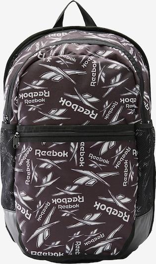 REEBOK Rucksack in taupe / schwarz / weiß, Produktansicht