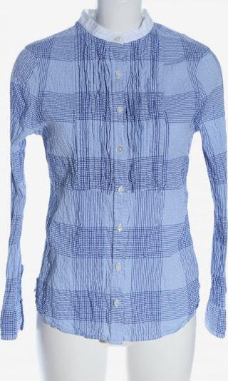 LandsEnd Langarmhemd in S in blau / weiß, Produktansicht