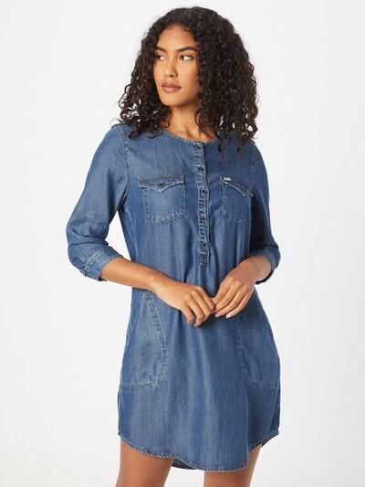 LTB Košeľové šaty 'ELORA' - modrá denim, Model/-ka