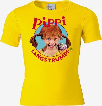 LOGOSHIRT T-Shirt in gelb / mischfarben, Produktansicht