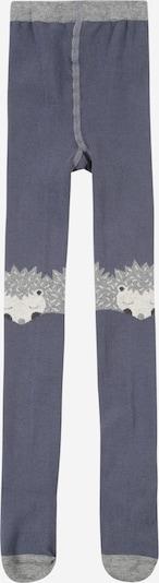 Hust & Claire Strumpfhose 'Frankie' in taubenblau / grau / schwarz / weiß, Produktansicht