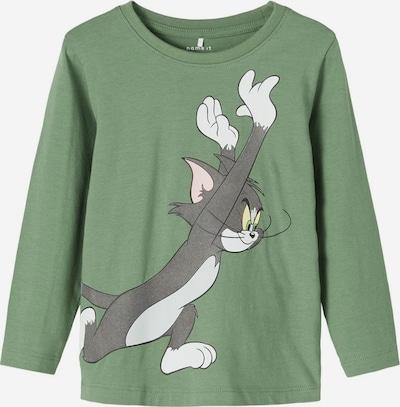 karamell / sötétszürke / világoszöld / vegyes színek / fehér NAME IT Póló 'Tom & Jerry', Termék nézet