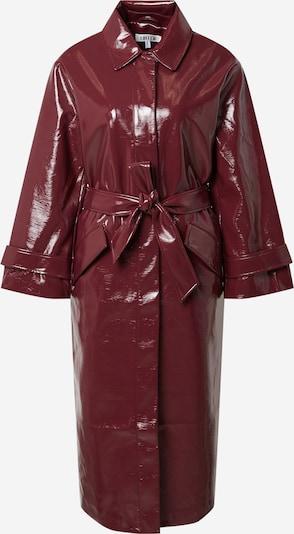 EDITED Ανοιξιάτικο και φθινοπωρινό παλτό 'Journi' σε βουργουνδί, Άποψη προϊόντος
