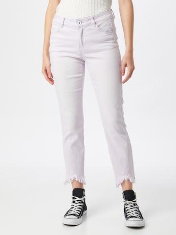TAIFUN Jeans in Lila
