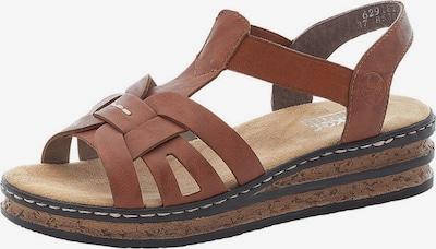 RIEKER Sandale in braun, Produktansicht