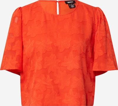 DKNY Blouse in de kleur Oranjerood, Productweergave