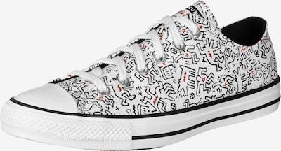 CONVERSE Sneaker 'All Star Ox' in rot / schwarz / weiß, Produktansicht