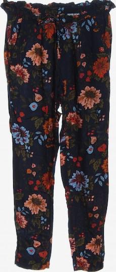 TOM TAILOR DENIM Baggy Pants in S in blau / khaki / rot, Produktansicht