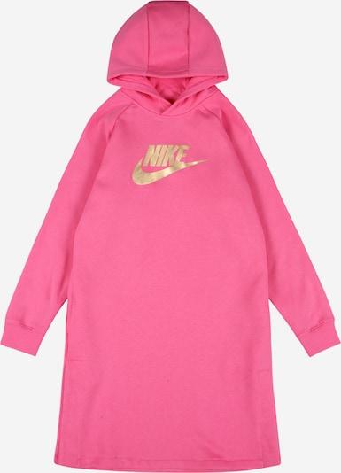 Nike Sportswear Kleid in gold / pink, Produktansicht