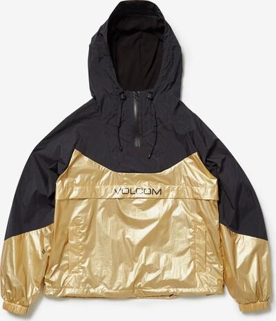 Volcom Jacke in gold / schwarz, Produktansicht